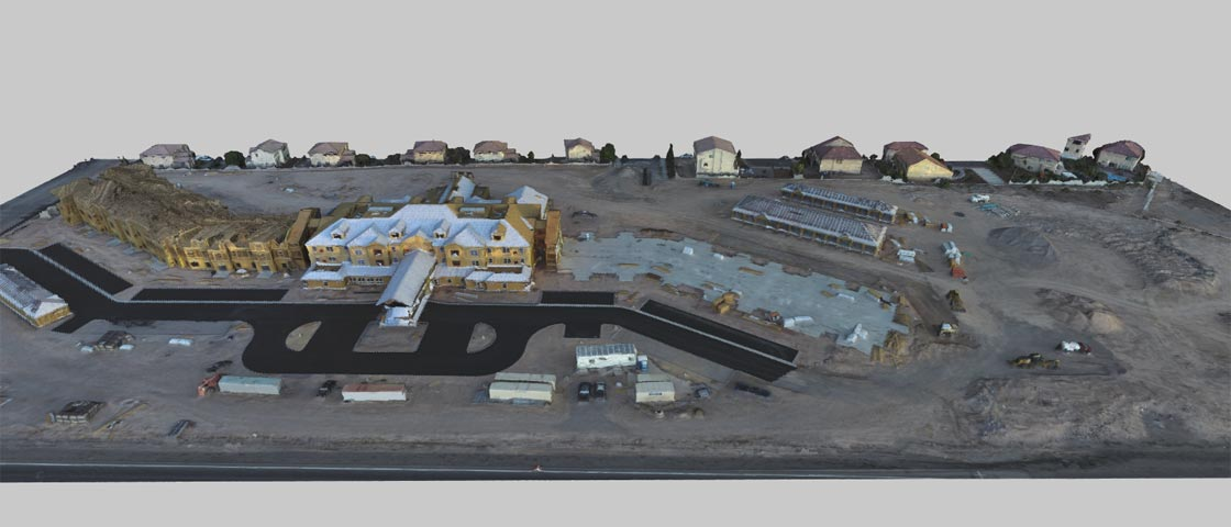 3D Imaging of Construction Sites