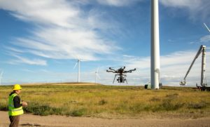 Drone Wind Turbine Aerial Inspection