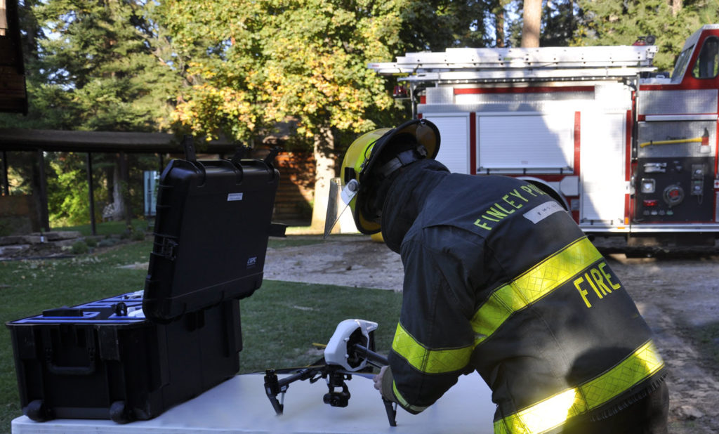 Drones Used for Good in Public Safety