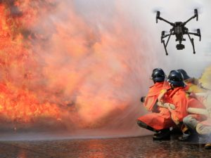 Fire Fighting Using Drones