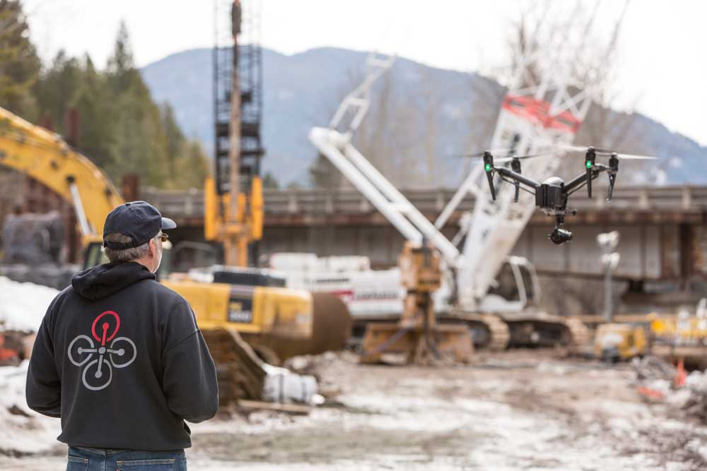 Construction Mapping Drones